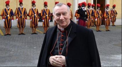 Il cardinale Parolin in visita al Siderurgico Arcelor Mittal (ex Ilva) di Taranto