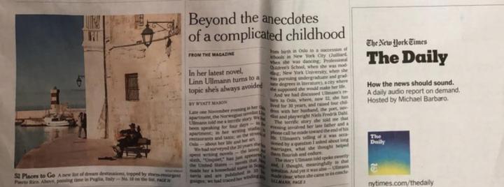 61c5990f03 ... del New York Times sulla cui prima pagina campeggia la foto di Monopoli  (Bari), città scelta dal quotidiano americano come emblema per il servizio  sulle ...