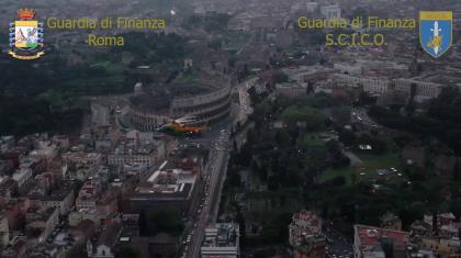Guardia di Finanza. maxi operazione antidroga a Roma. In carcere anche un Casamonica