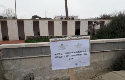 """Convalidato il sequestro dello """"storico"""" stabilimento balneare Albatros di Castellaneta Marina"""