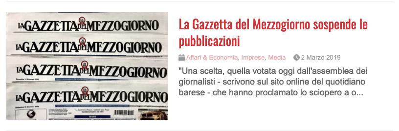 """8d1ad865fa Tutti gli articoli sul """"caso"""" Ciancio di Sanfilippo editore de La Gazzetta  del Mezzogiorno"""