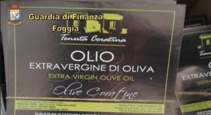 La Guardia di Finanza a Foggia mette i sigilli a 2,5 tonnellate olio adulterato