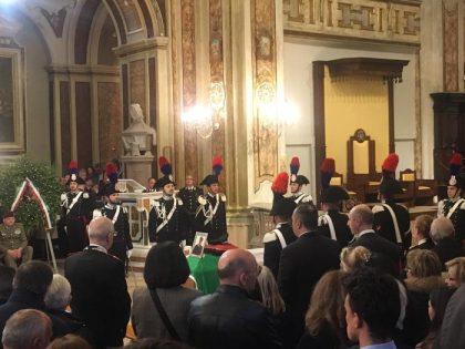 Funerale di Stato con il premier Conte in onore del Carabiniere ucciso in Puglia