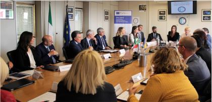 """Prosegue il progetto comunitario """" Ipa II"""" per il contrasto alla criminalità nei Balcani occidentali"""