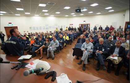 "ArcelorMittal ha celebrato in tutti i suoi stabilimenti nel mondo l' ""Health & Safety Day"""
