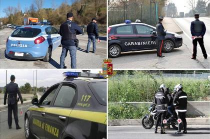 Operazione Periferie Sicure coordinata dalla Direzione Centrale della Polizia Criminale