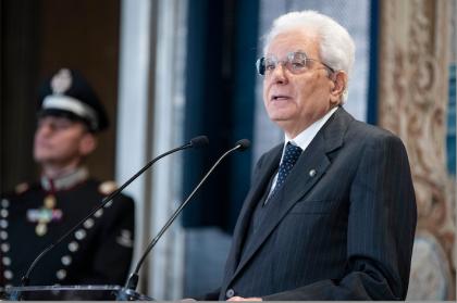 """Primo Maggio, Mattarella: """"Creare lavoro un dovere"""""""