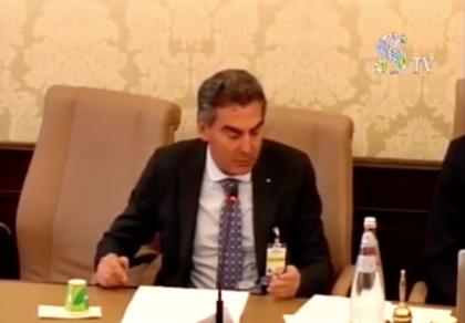 L'audizione del Presidente di Confindustria Taranto al Senato della Repubblica