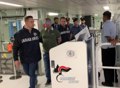 La crociera finisce con l' arresto per uno tre rapinatori delle Poste di Brindisi finiti in manette
