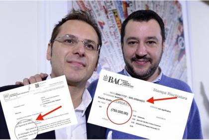 Esclusivo: così Armando Siri ha intascato oltre un milione da una banca di San Marino
