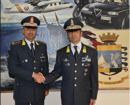 Il Colonnello Bia nuovo comandante della Guardia di Finanza a Brindisi