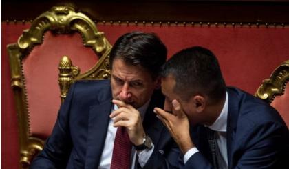 """Conte: """"L'uscita di Di Maio venerdì la considero una grave scorrettezza. Ne dovrò parlare con lui a quattr'occhi""""."""