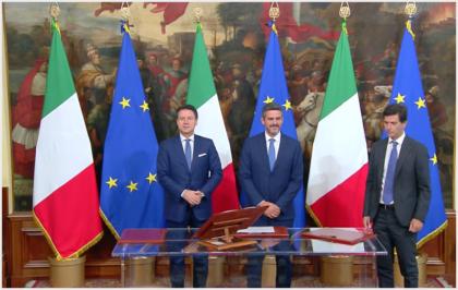 """Palazzo Chigi. Giurano i sottosegretari. Il premier Conte: """"Dialogate con i parlamentari"""""""