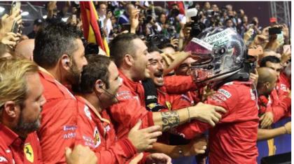 Singapore. Formula 1, doppietta Ferrari. Vettel ritorna a vincere Leclerc secondo