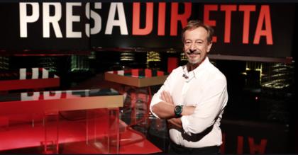 """A """"Presa Diretta"""" su RAI3 l' Ad di Arcelor Mittal Matthieu Jehle Michele Emiliano"""