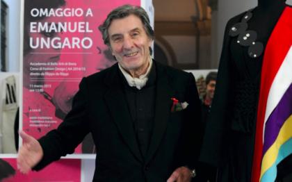 Addio Emanuel Ungaro, stilista di origini pugliesi che ha fatto grande la moda francese