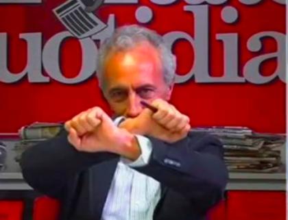 Marco Travaglio: l' Ometto Furioso