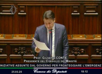 L'intervento del premier alla Camera dei Deputati. Diretta TV