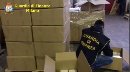 Maxisequestro di mascherine in Lombardia