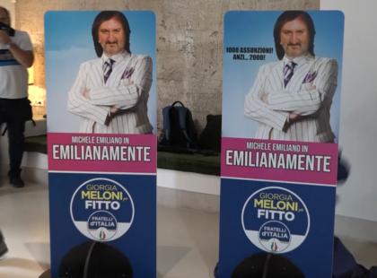 Michele Emiliano diventa 'Cetto La Qualunque'