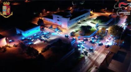 Blitz antimafia in Puglia dei Carabinieri e Polizia