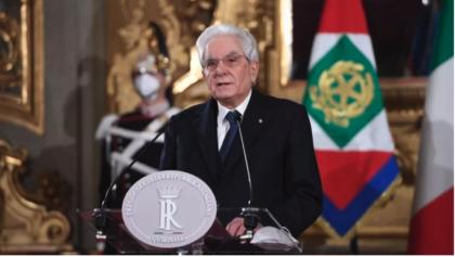 CRISI DI GOVERNO, IL DISCORSO INTEGRALE DEL PRESIDENTE MATTARELLA
