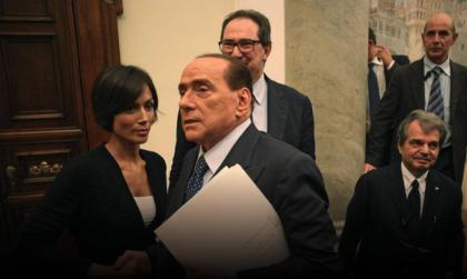 SILVIO BERLUSCONI RICOVERATO ALL'OSPEDALE SAN RAFFAELE DI MILANO