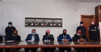 OPERAZIONE ANTIMAFIA DELLA POLIZIA A CALTANISSETTA