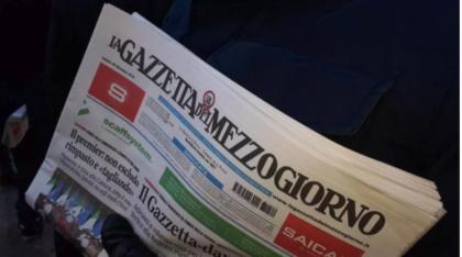 TURBATA (?) L'ASTA FALLIMENTARE DELLA GAZZETTA DEL MEZZOGIORNO A BARI