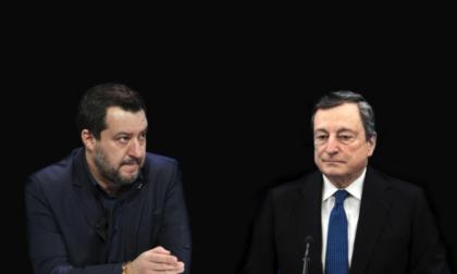 SCONTRO DRAGHI-SALVINI SUL VACCINO OBBLIGATORIO