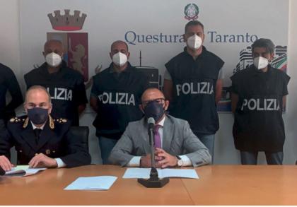"""LA POLIZIA DI STATO ARRESTA COSIMO CESARIO NOTO COME """"GIAPPONE E PONE FINE ALLA SUA LATITANZA"""