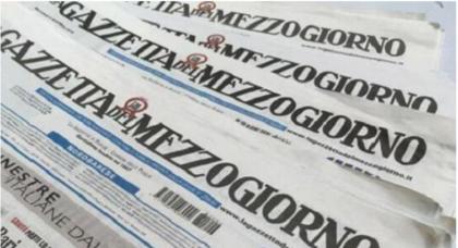 EDITORIA, IL GRUPPO ANGELUCCI INTERESSATO A RILEVARE LA GAZZETTA DEL MEZZOGIORNO